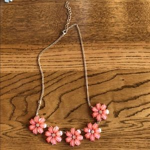Accessories - Coral Flower Necklace